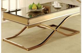 Sundance Brass Coffee Table