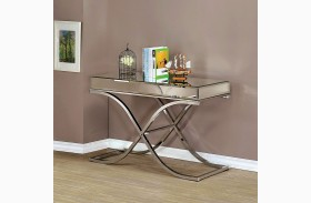 Sundance Chrome Sofa Table