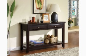Baldwin Espresso Sofa Table