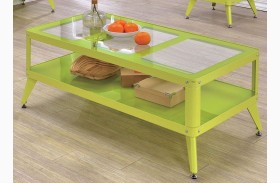Vibber Apple Green Coffee Table