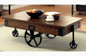 Paige Medium Weathered Oak Coffee Table