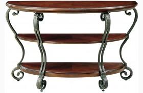 May Brown Cherry Sofa Table