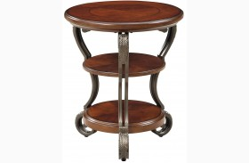 May Brown Cherry Side Table