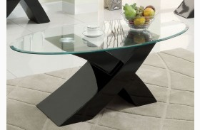 Xtres Black Coffee Table