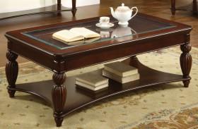 Windsor Glass-Insert Coffee Table