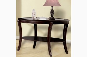 Finley Espresso Sofa Table