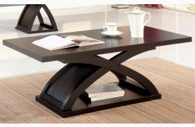 Arkley Espresso Rectangular Coffee Table