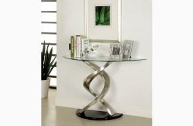 Nova Satin Plated Sofa Table