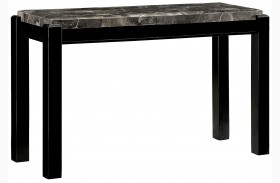 Gladstone Gray Marble Top Sofa Table