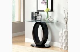 Lodia III Black Sofa Table