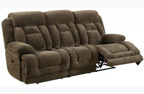 Grenville Brown Power Reclining Sofa