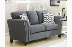Campbell Gray Loveseat