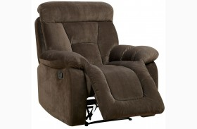 Bloomington Brown Reclining Chair
