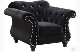 Jolanda I Black Chair