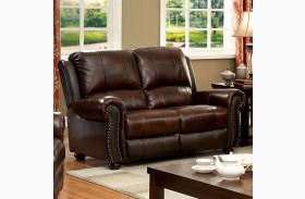 Turton Brown Loveseat