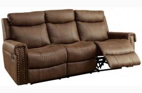 Geddes Brown Sofa
