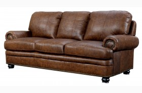 Rheinhardt Top Grain Leather Sofa