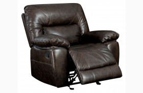 Stallion Top Grain Leather Match Recliner