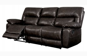 Stallion Top Grain Leather Match Reclining Sofa