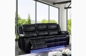 Sirius Black Power Reclining Sofa