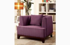 Sofia Purple Chair