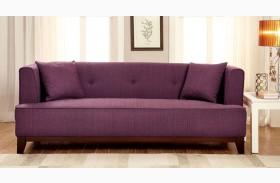 Sofia Purple Sofa