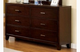 Enrico I Brown Cherry Dresser
