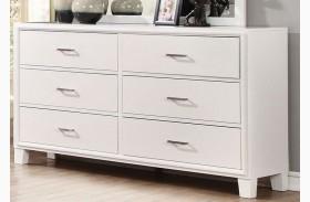 Enrico I White Dresser