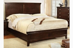 Spruce Brown Cherry Full Panel Bed