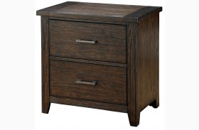 Ribeira Dark Walnut Nightstand