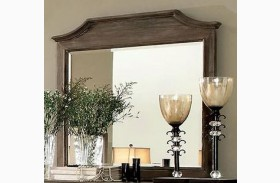 Halliday Wired Brushed Gray Mirror