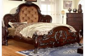 Castlewood Cherry King Platform Bed