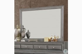 Brandt Gray Mirror