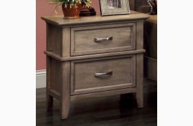 Loxley Camel Finish Nightstand