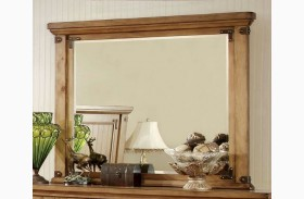 Pioneer Burnished Pine Mirror