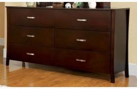 Midland Brown Cherry Dresser