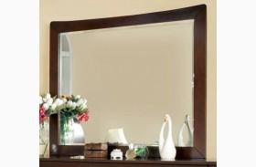 Midland Brown Cherry Mirror