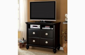 Laguna Hills Black Media Chest