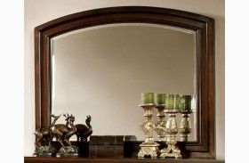 Northville Dark Cherry Mirror
