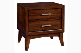 Snyder Brown Cherry Nightstand