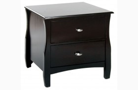 Brooklyn Espresso Nightstand