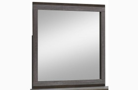 Manvel Dark Gray Mirror