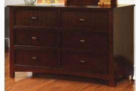 Omnus Dark Walnut Dresser