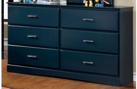 Prismo Blue Dresser