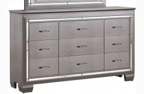 Bellanova Silver Dresser