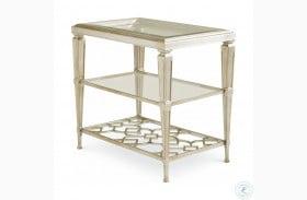Caracole Classic Three Shelf Side Table