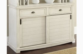 Cayla Distressed White Buffet