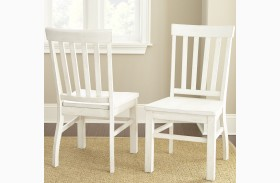Cayla Antique White Side Chair Set Of 2
