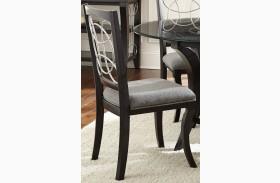 Cayman Grey Fabric Side Chair Set of 2
