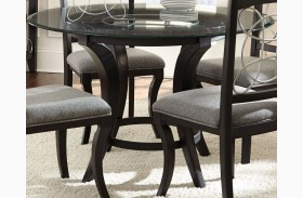 Cayman Glass Top Roung Dining Table